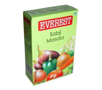 Приправа Масала Сабджи для овощей Эверест, Sabji Masala Everest, 100 гр