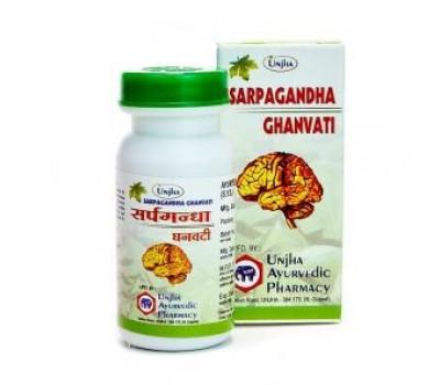 Сарпагандха ганвати (Sarpagandha Ghanvati) Unjha, 40 таб.