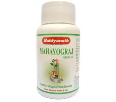 Махайогарадж гуггул (Mahayograj Guggulu) Baidyanath, 40 таб.
