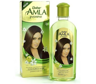 Масло для волос Амла с жасмином (Amla Jasmine) Dabur, 200 мл