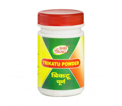 Порошок Трикату- для пищеварения, Trikatu Powder Shri Ganga, 50 гр