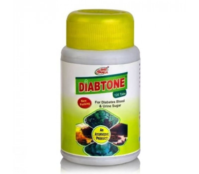Диабтон-лечение диабета, Diabtone Shri Ganga, 120 таб