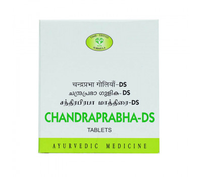 Чандрапрабха - ДС - ДЛЯ РЕПРОДУКТИВНОЙ СИСТЕМЫ / Chandraprabha-DS, AVN Ayurvedic, 100 таб.