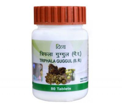 Triphala Guggul Patanjali Трифала Гуггул - омоложения организма, 80 таб