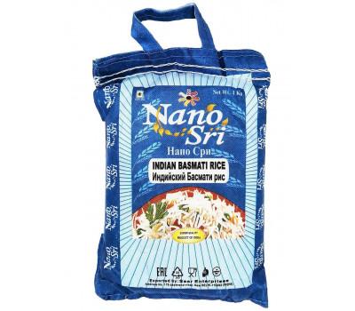 Индийский Басмати рис Нано Шри, Indian Basmati rice Nano Sri, 1кг