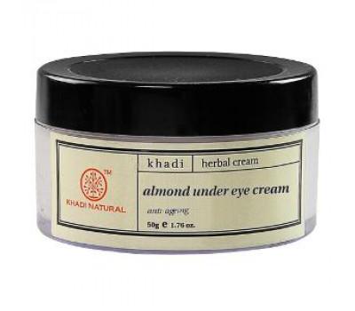 Крем для кожи вокруг глаз с Миндальным маслом Khadi 50 грамм