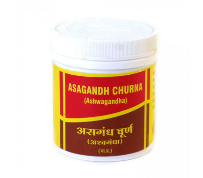 АШВАГАНДХА ЧУРНА - ОМОЛОЖЕНИЕ ОРГАНИЗМА / Ashwagandha churnam, Vyas, 100 гр.