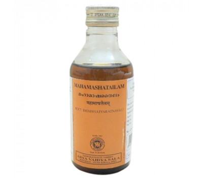 Махамаша Тайлам Коттаккал 200 мл. Mahamasha Tailam Kottakkal - аюрведическое масло от невралгии, 200 мл
