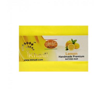"""Натуральное мыло """"Лимонная трава"""" Кхади Khadi Lemon Grass) 125 гр"""