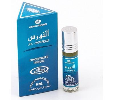 Мужские арабские масляные духи AL REHAB AL NOURUS (Аль Нурус), 6 мл.