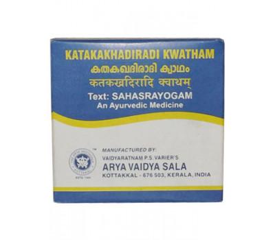 Катакакхадиради кватхам Коттаккал Katakakhadiradi Kwatham Tablets Kottakkal 100 таб