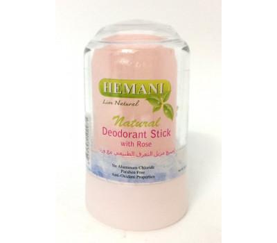Дезодорант-кристалл Hemani с розой 60 гр