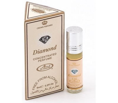Арабские масляные духи AL REHAB DIAMOND (Даймонд), 6 мл.