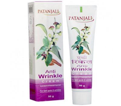 Крем против морщин Патанджали Anti wrinkle cream Patanjali 50 гр