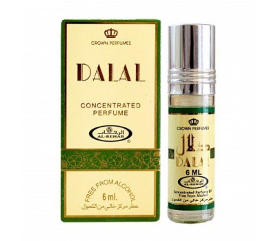 Арабские масляные духи AL REHAB DALAL (Даляль), 6 мл.