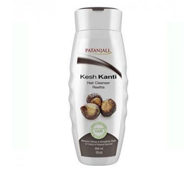Шампунь Патанджали ритха Patanjali Kesh Kanti Reetha Hair Cleanser, 200мл.