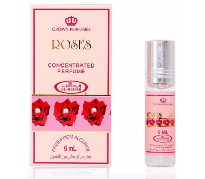 Масляные духи AL REHAB ROSES (Розы), 6 мл
