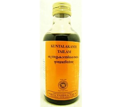 Масло для волос Кунталаканти таил Kottakkal Kuntalakanti Tail 200 мл