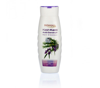 Шампунь от перхоти Патанджали Patanjali Kesh Kanti Anti-Dandruff hair Cleanser 200 мл