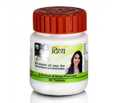 Каякалп Вати Патанджали Divya Patanjali Kayakalp Vati Extra Power - Препарат для лечения кожных заболеваний, прыщей и угрей 160 таб