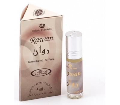 Арабские масляные духи AL REHAB RAWAN (Раван), 6 мл.