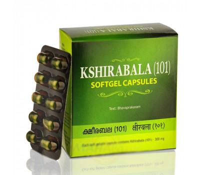 Кширабала (101) Коттаккал Kshirabala (101) Kottakkal от преждевременного старения организма, 100 капсул
