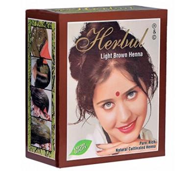 Herbul Henna Хна индийская Светло-коричневая 6*10 гр.