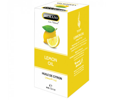 Масло лимона Hemani Хемани 30 мл