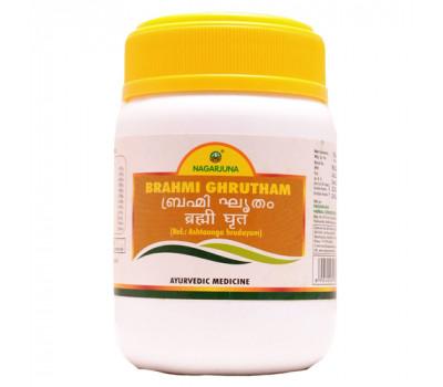 Брами Гритам Brahmi Ghrutham Nagarjuna 200 гр - Мозговой тоник.