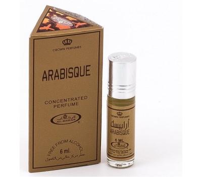 Арабские масляные духи Arabisque (Арабиск) от Al Rehab, 6 мл
