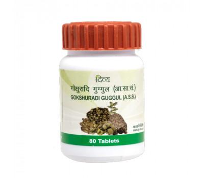 Гокшуради Гуггул Патанджали Gokshuradi Guggul Patanjali 80 таб - здоровые почки