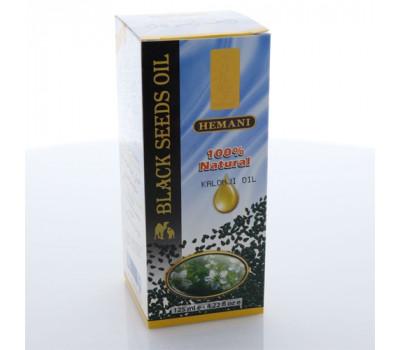 Масло холодного отжима из семян чёрного тмина Black Seed Oil, Hemani, 125 мл