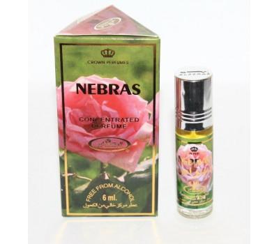 Арабские масляные духи Nebras от Al Rehab, 6 мл