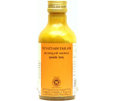 Масло для тонуса кожи и мышц Yuvatyadi Tailam Kottakkal 200 мл