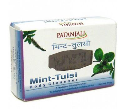 Мыло С Мятой И Тулси Mint&Tulsi Soap Diviya Patanjali 75 гр