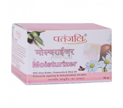 Увлажняющий крем для лица с маслом Ши, Патанджали Patanjali Moisturizer cream 50 гр