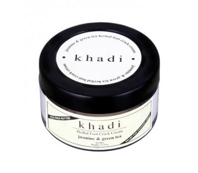 Травяной крем для ног Жасмин и Зеленый чай Кхади (Herbal Jasmine Greentea Foot Crack Cream Khadi) 50 гр