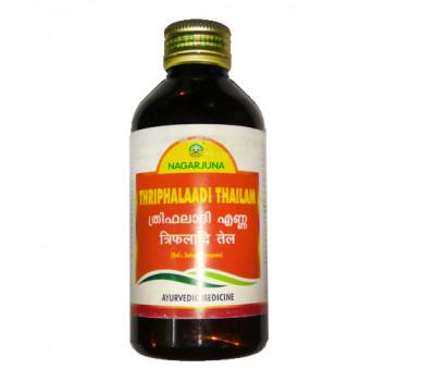 Масло Трифалади Нагарджуна Thriphalaadi Thailam Nagarjuna 200 мл
