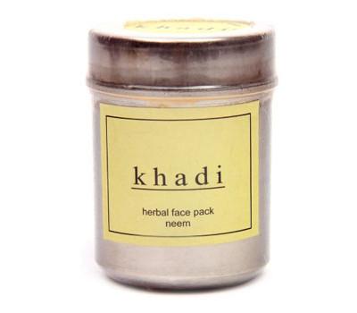 Натуральная маска для лица НИМ Кхади Khadi herbal face pack Neem 50 гр
