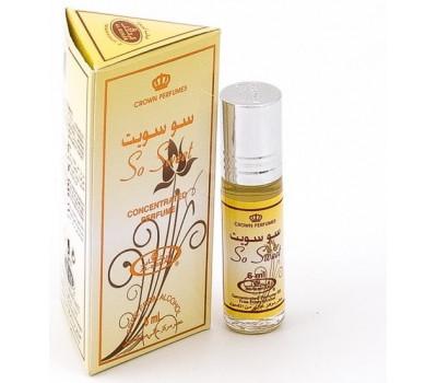 Арабские масляные духи So Sweet от Al Rehab, 6 мл