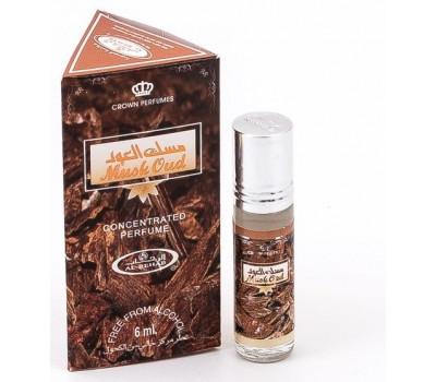 Арабские масляные духи Musk Oud от Al Rehab, 6 мл