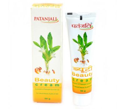 Крем для лица Бьюти, Beauty Cream PATANJALI, 50 мл