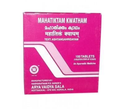 Махатиктам Кватхам Коттаккал Mahatiktam Kwatham Tablets Kottakkal 100 таб
