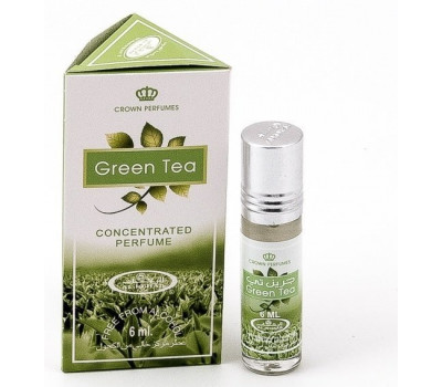 Арабские масляные духи AL REHAB GREEN TEA (Зеленый чай), 6 мл.