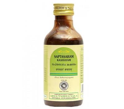 Саптасарам Кашаям Коттаккал 200 Мл. Saptasaram Kashayam Kottakkal – лечение боли 200 мл