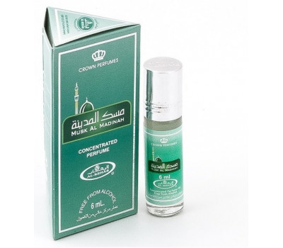 Арабские масляные духи Musk Al Madinah от Al Rehab, 6 мл