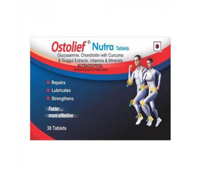 Остолиф нутра Ostolief Nutra Charak 30 таб - от остеоартрита и остеоартроза, восстанавливает хрящи