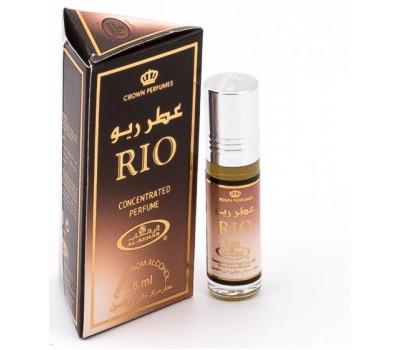 Арабские масляные духи Rio от Al Rehab, 6 мл