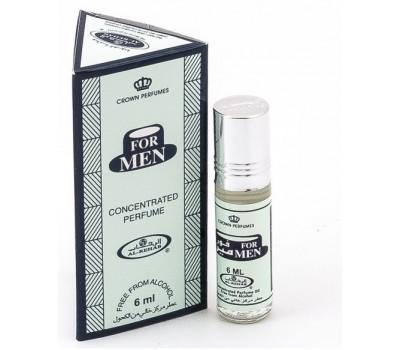 Арабские масляные духи For Men от Al Rehab, 6 мл