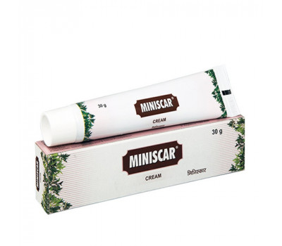 Минискар крем Miniscar cream Charak - от растяжек, шрамов и рубцов 30 гр